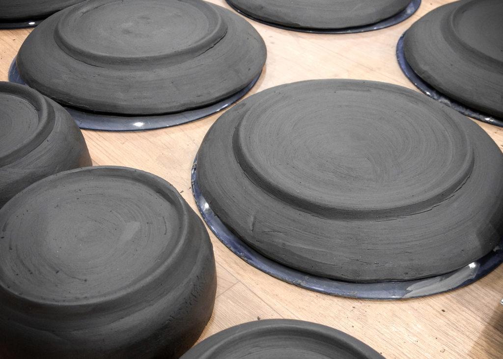 Cerâmica artesanal da Confra.